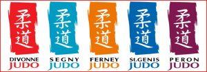 Logos 5 clubs